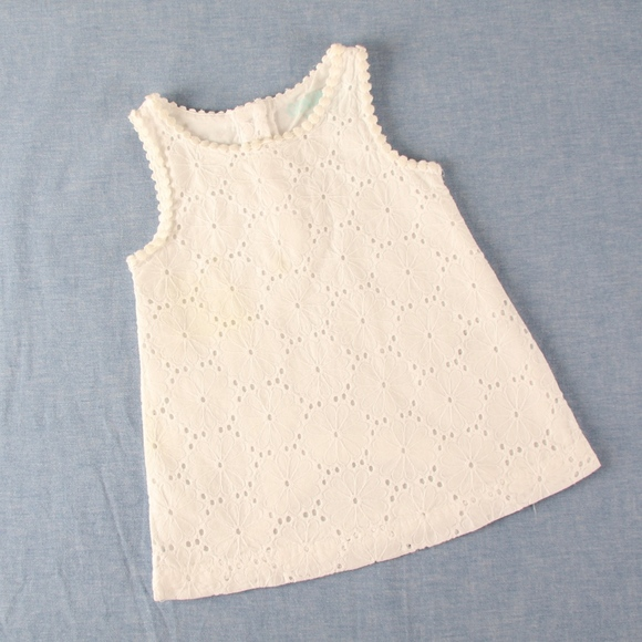 OshKosh B'gosh Other - OshKosh 12 mo White Eyelet Lace Summer Dress